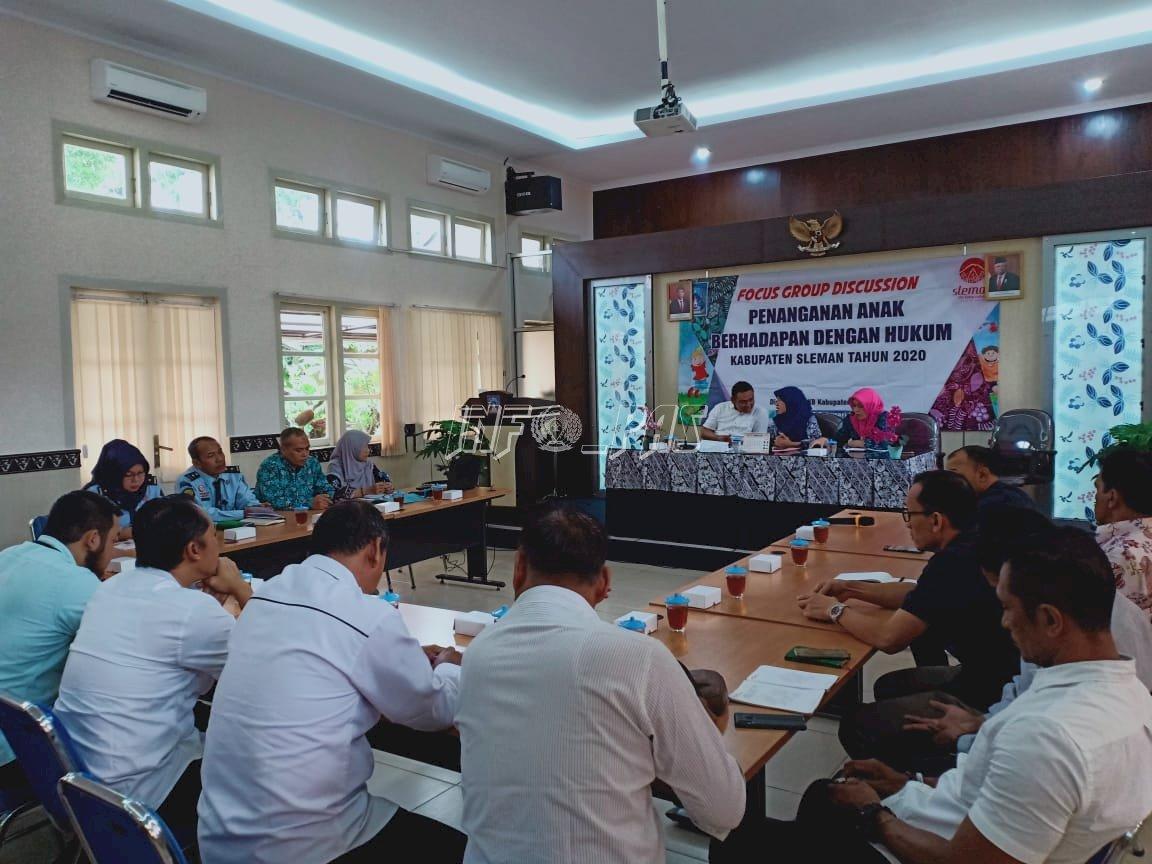 P3AP2KB Kab. Sleman Libatkan Peran Bapas Yogyakarta Dalam Penanganan ABH