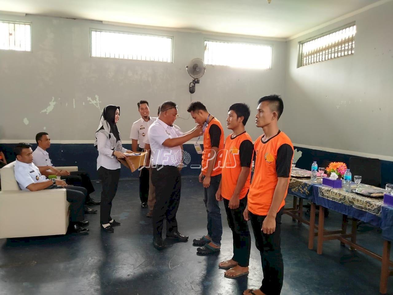 Asah Keterampilan WBP, Lapas Narkotika Pangkal Pinang Gandeng BLK Bangka Belitung