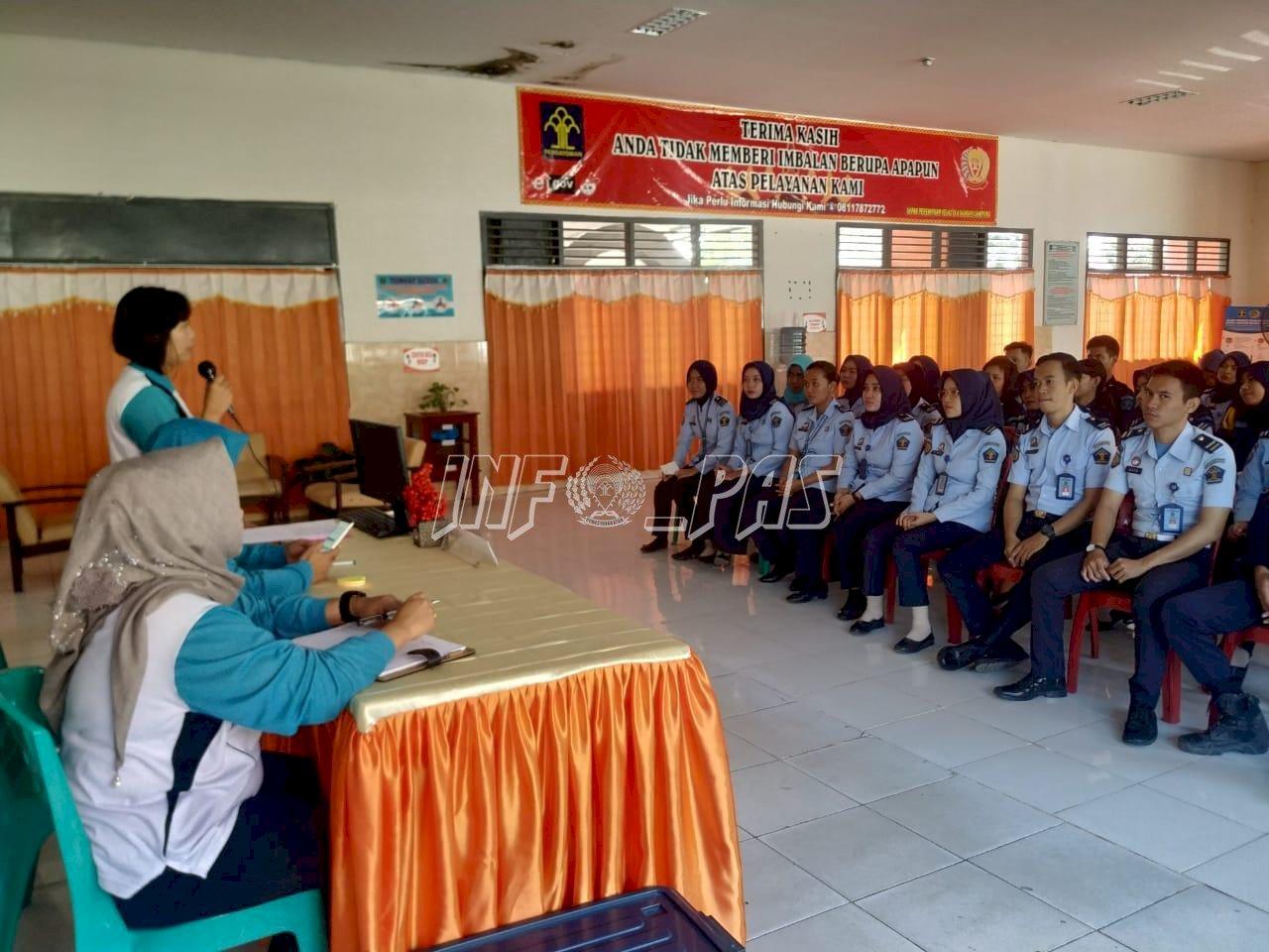 Jadi Garda Terdepan, Regu Pengamanan LPP Lampung Terima Penguatan