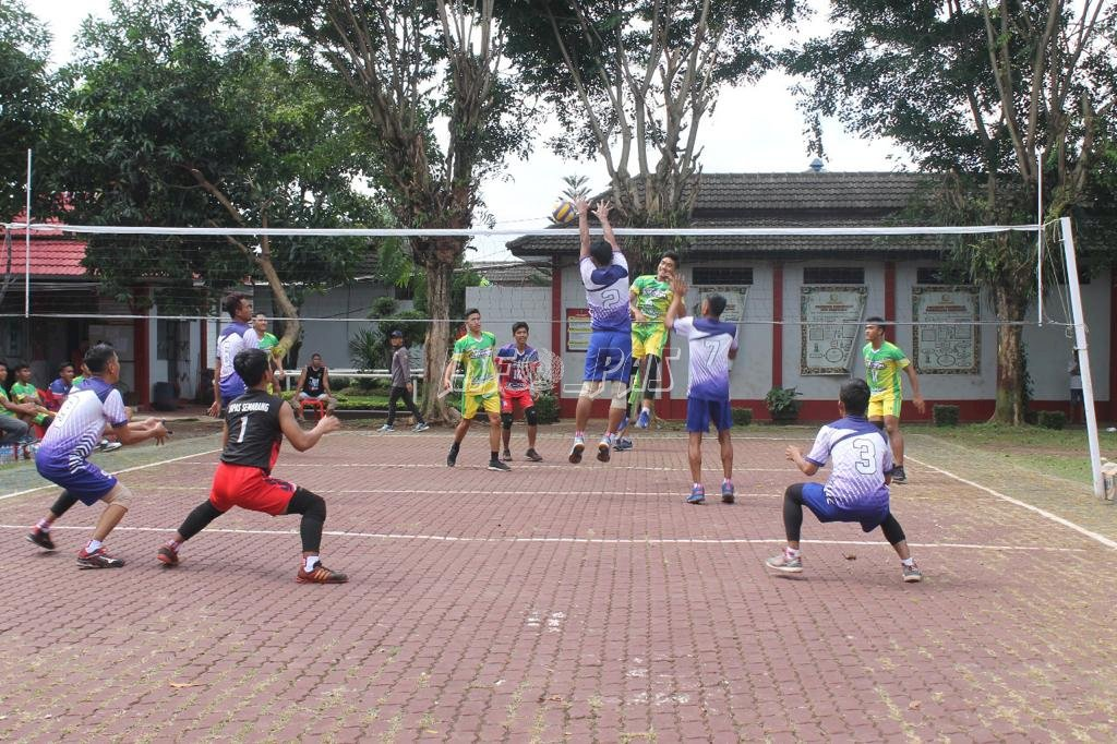 WBP Lapas Semarang Tanding  Futsal & Voli vs Tim FIK Unnes