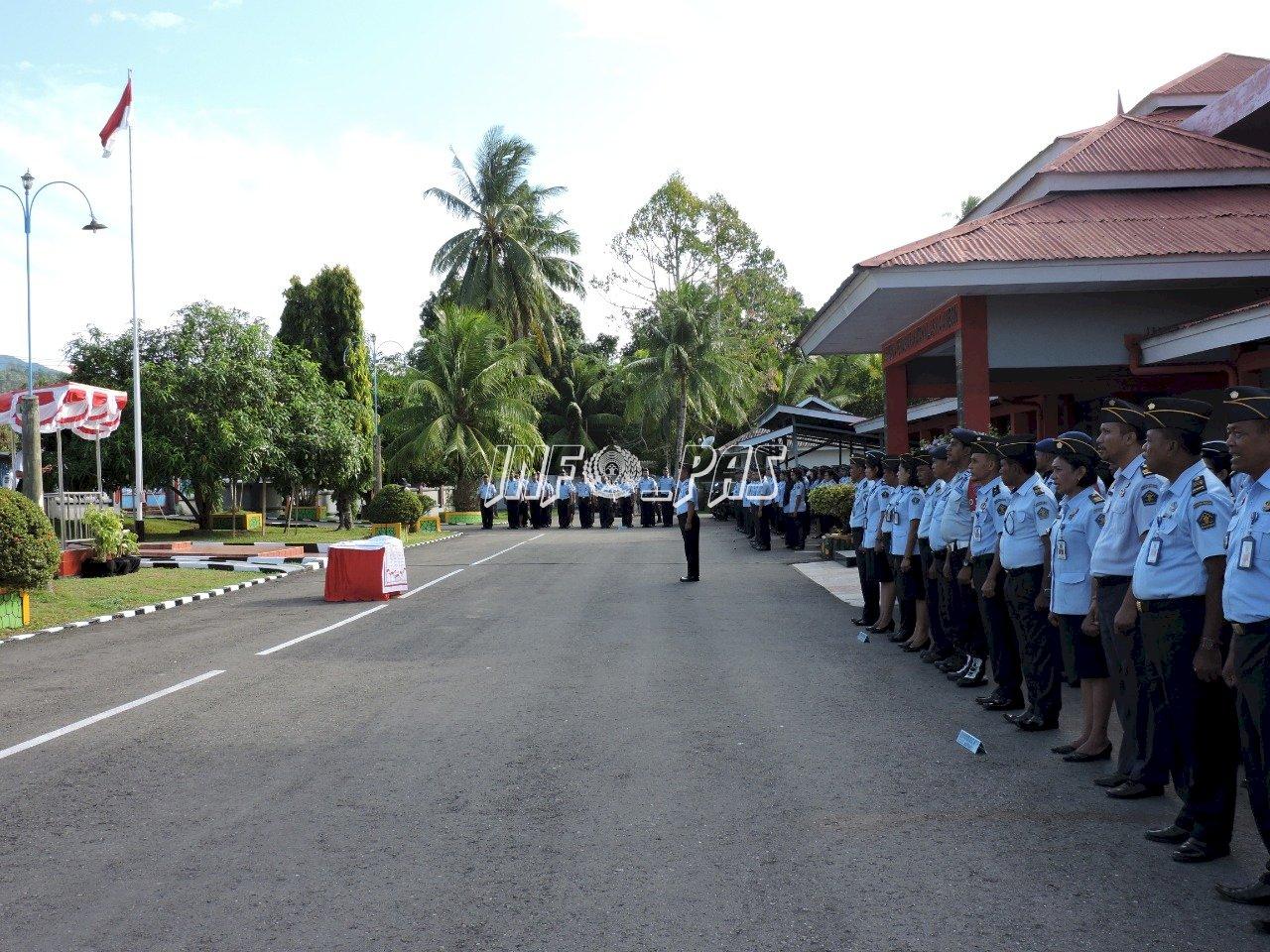 UPT PAS se-Maluku Berkomitmen Pada Deklarasi Janji Kinerja 2020