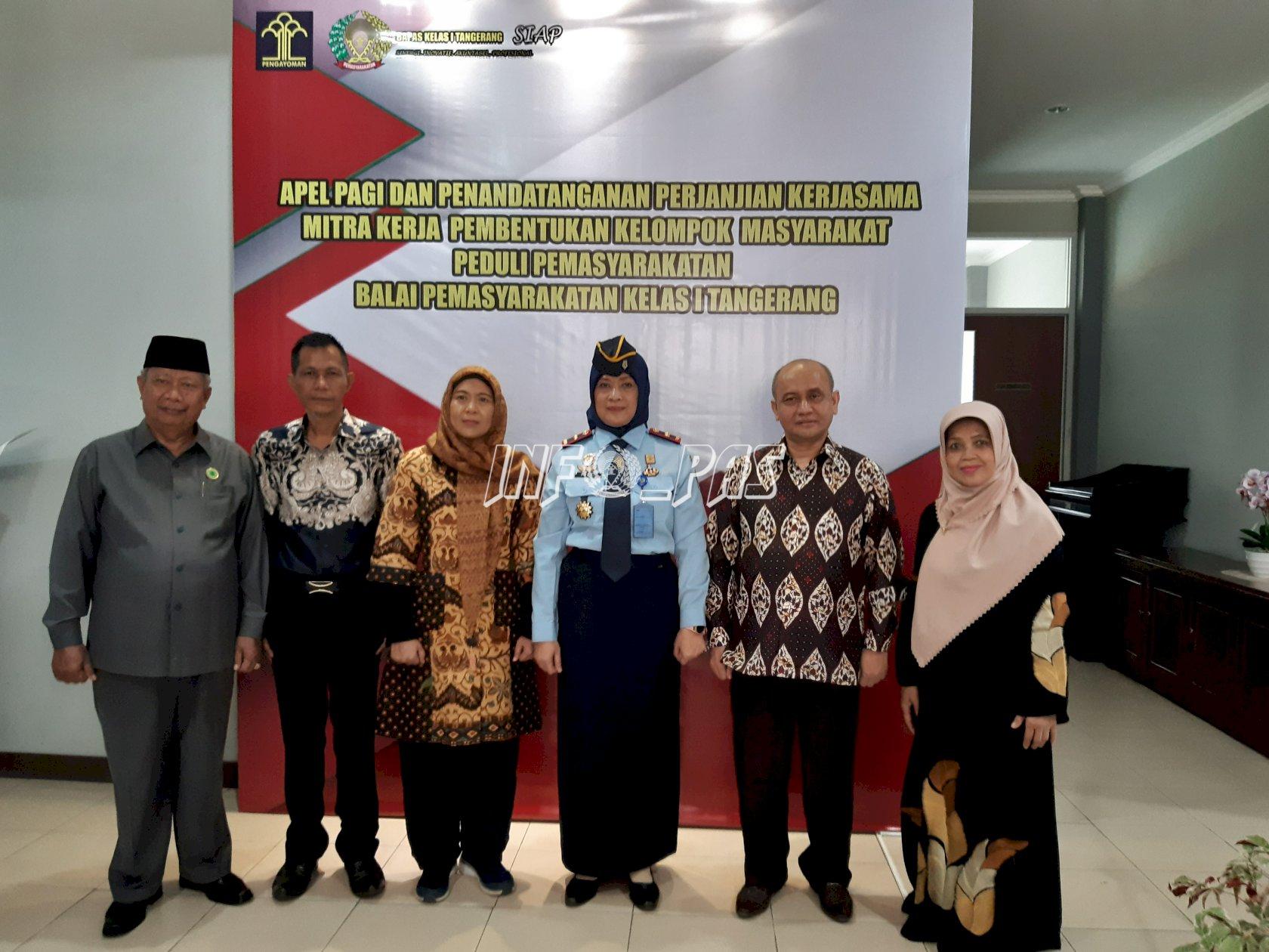 Bapas Tangerang Wujudkan Kerja Sama Pokmas Peduli Pemasyarakatan