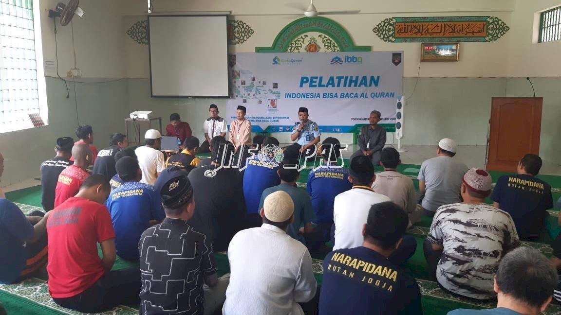 Pelatihan Baca Al Qur'an Tingkatikan Spiritualitas WBP Rutan Yogyakarta