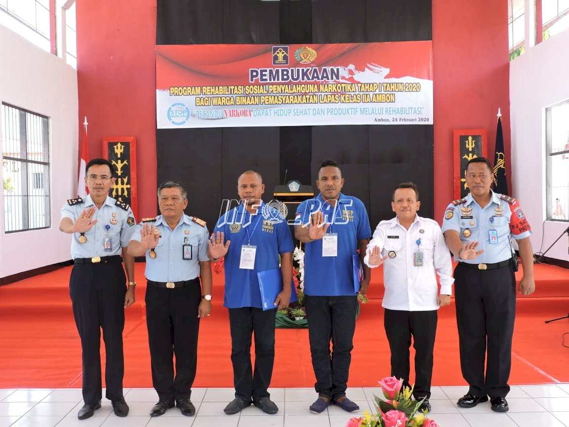 Kakanwil Maluku Buka Program Rehabilitasi WBP Narkoba di Lapas Ambon