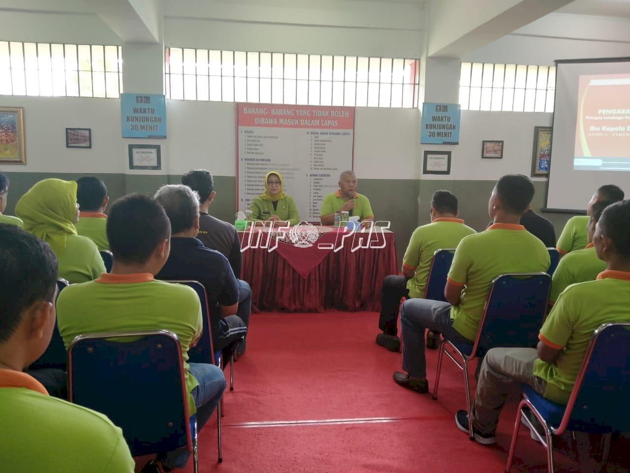 Beri Penguatan di Lapas Yogyakarta, Kadiv PAS DIY Bahas Corpu & Revitalisasi Pemasyarakatan
