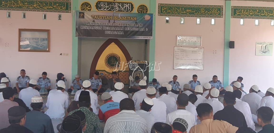 Lapas Polewali Adakan Tausyiah Islamiyah Bagi WBP