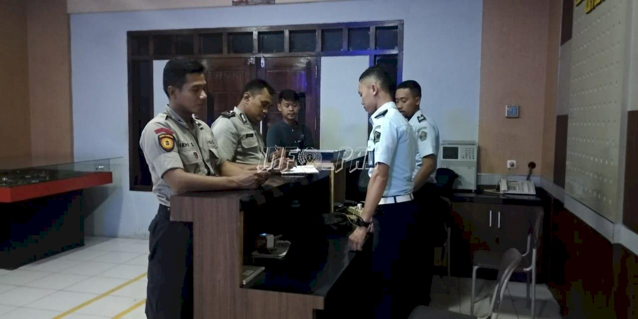 LPKA Bandar Lampung - Polsek Tegineneng Perkuat Koordinasi Kamtib