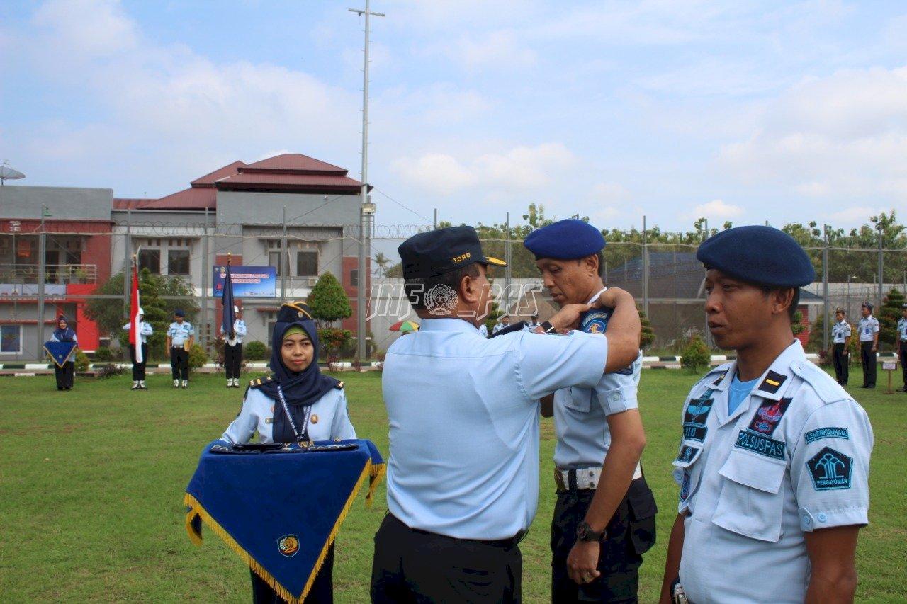 Satops Patnal Lapas Cilegon Dikukuhkan, Ini Pesan Kadiv PAS Banten