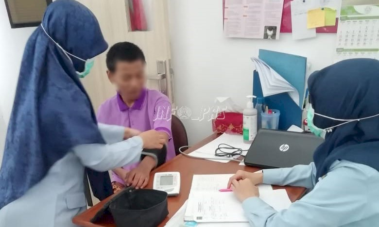 Waspada Corona, Anak LPKA Jakarta Jalani Skrining Penyakit