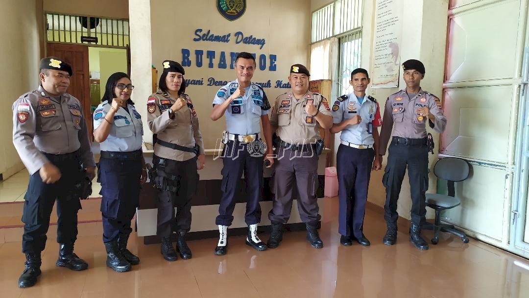 Patroli Sambang Wujudkan Sinergi Rutan Soe - Polres Timur Tengah Selatan