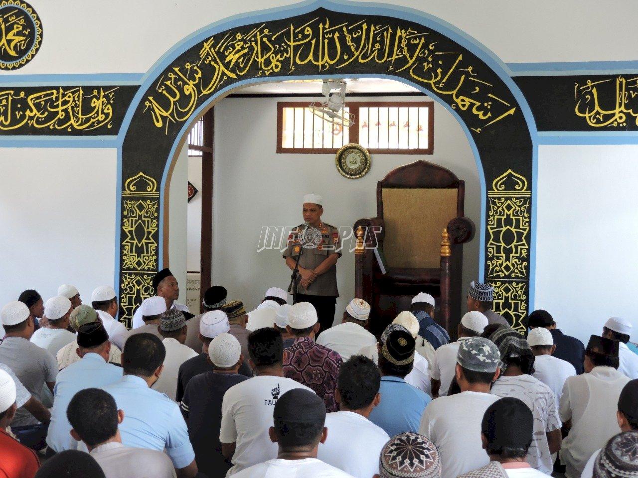 Kedatangan Kapolda Maluku, WBP Lapas Ambon Dapat Penguatan
