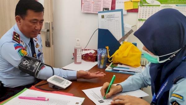 LPKA Jakarta Laksanakan Skrining Kepada Petugas & Pengunjung