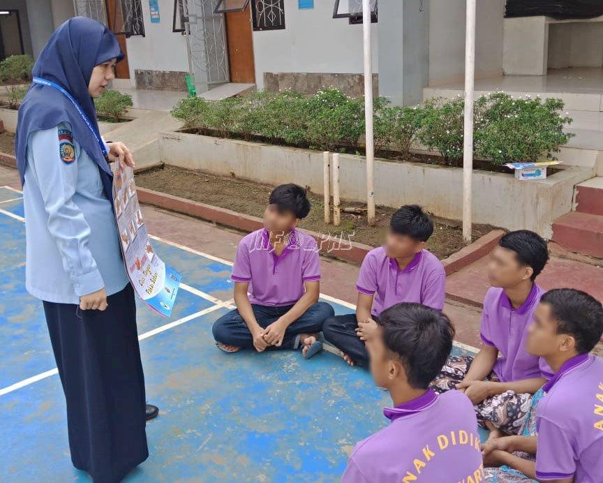 Cegah Corona, Dokter LPKA Jakarta Sosialisasikan GERMAS Kepada Anak