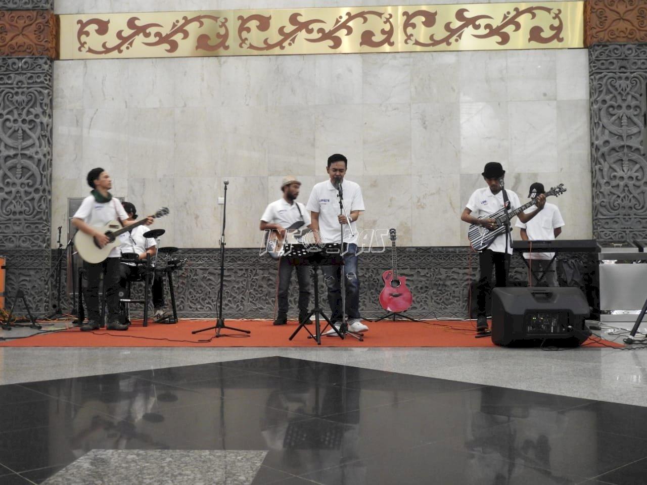 Lapasta Band Meriahkan Pameran Homeland Security Indonesia 2020