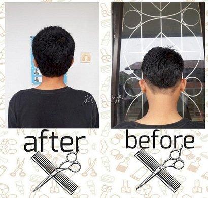 Anak LPKA Jakarta Praktikkan Hasil Pelatihan Cukur Rambut