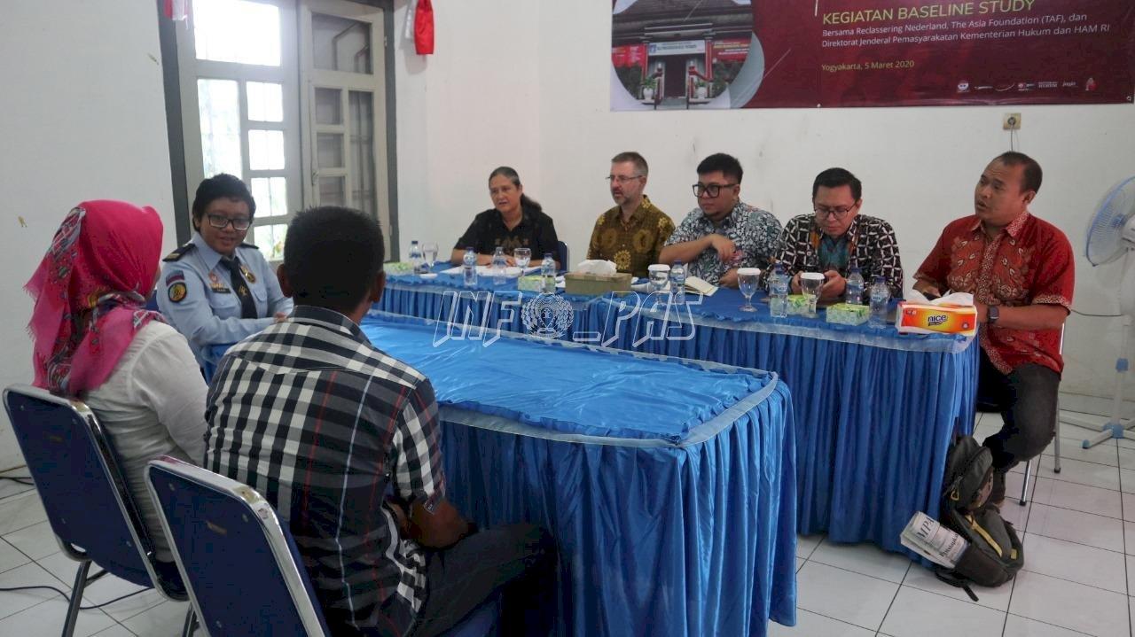 Baseline Study Reclassering Nederland di Bapas Yogyakarta, Ini Pembahasannya