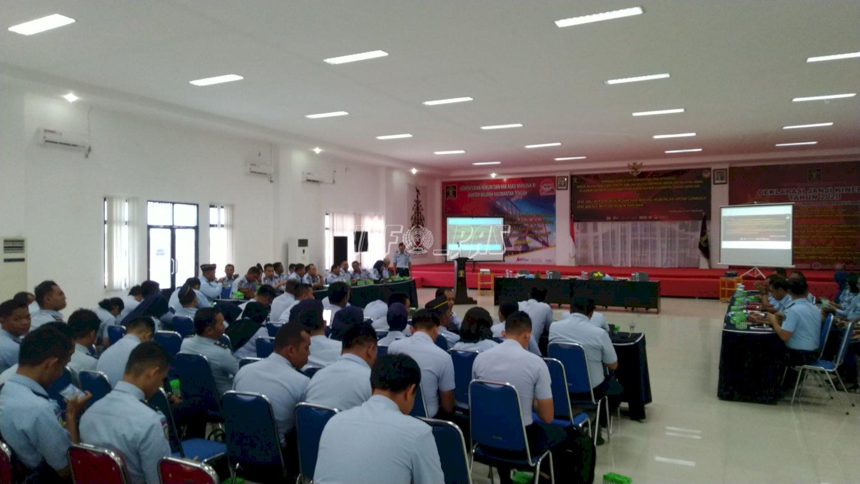 Kalapas Sukamara Hadiri Persiapan Rapat Pembinaan Kinerja & Pembangunan WBK/WBBM