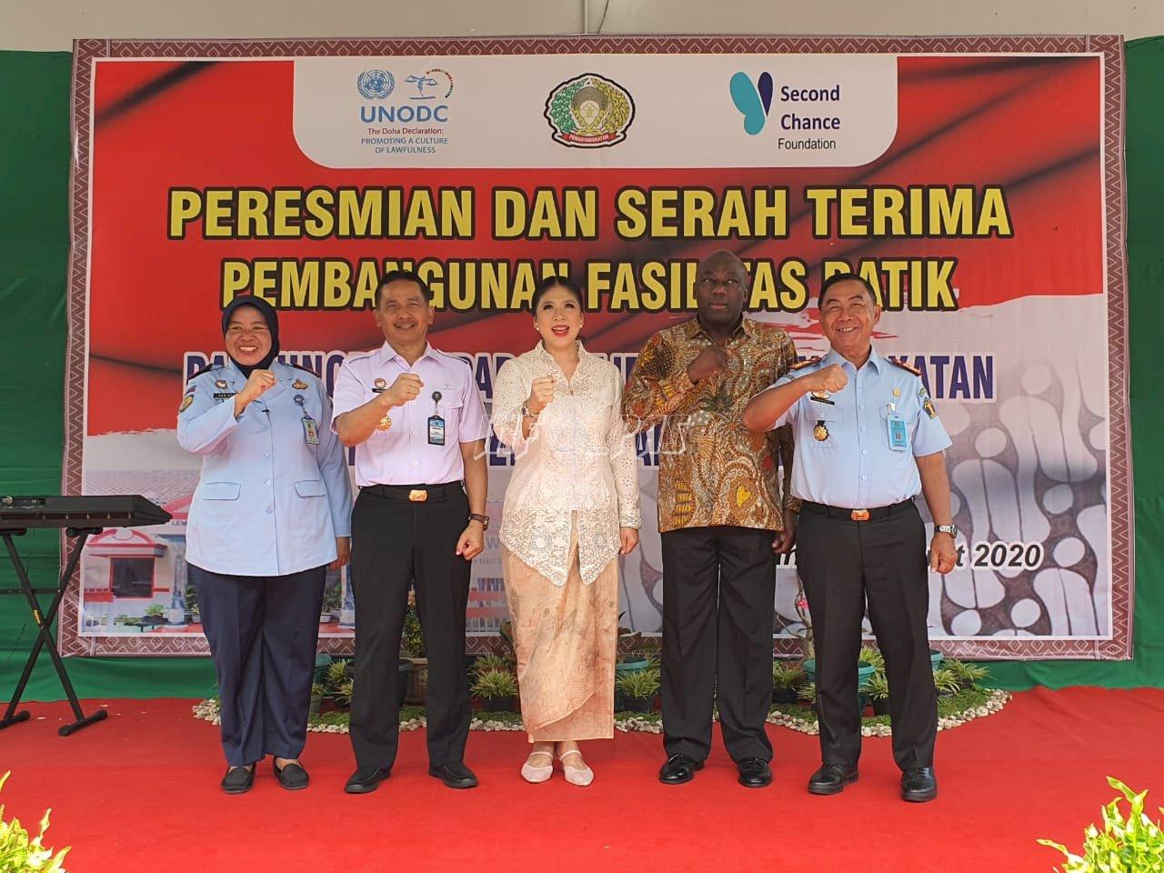 Plt. Dirjen PAS Resmikan Bangunan & Fasilitas Membatik di LPP Semarang