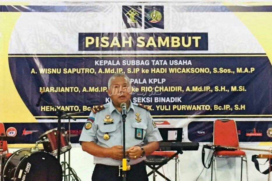 Pisah Sambut Pejabat, Ini Pesan Kalapas Yogyakarta