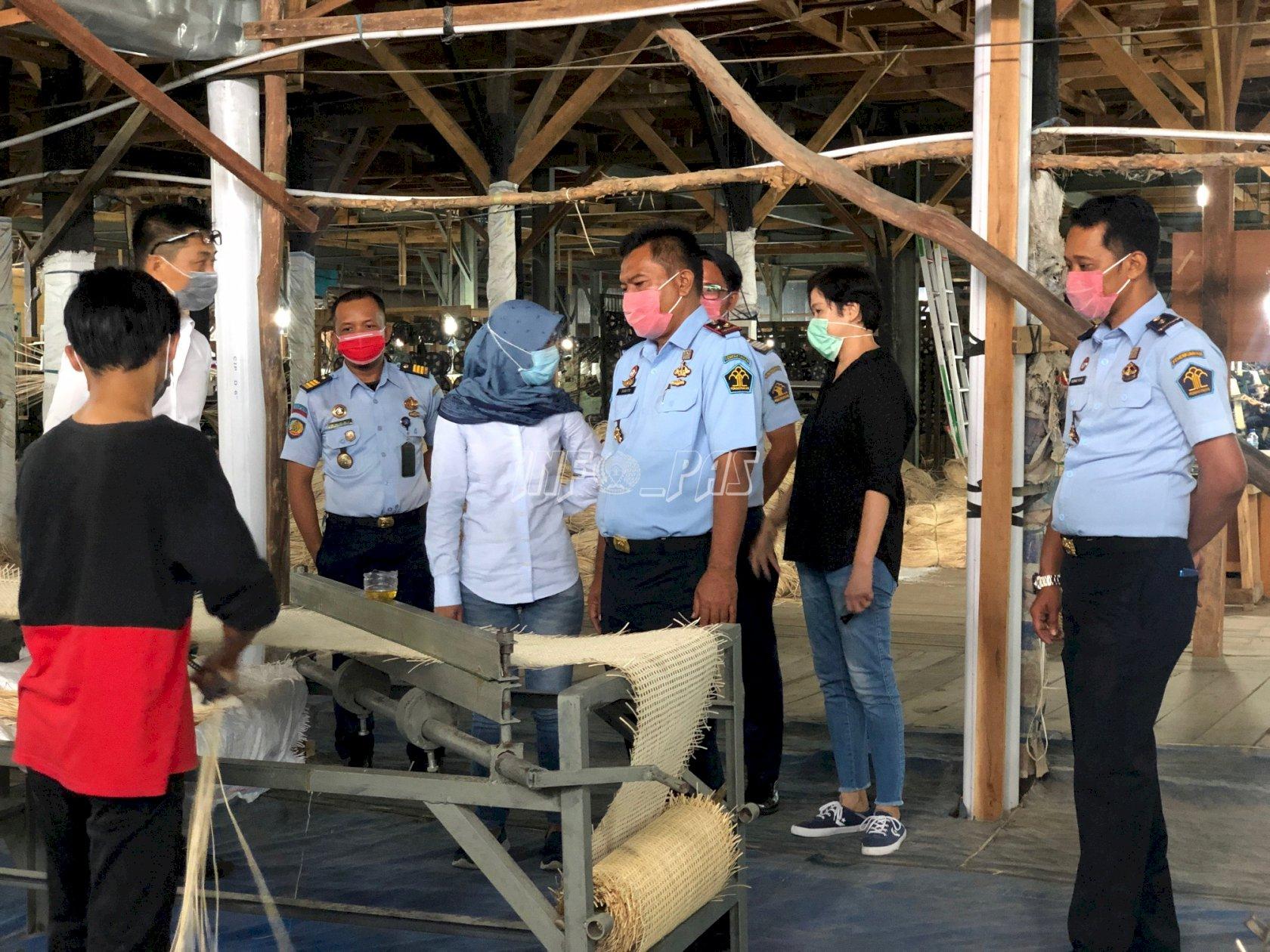LPN Karang Intan Jajaki Kerja Sama Pembinaan WBP Dengan PT. Chen Xin International Trading
