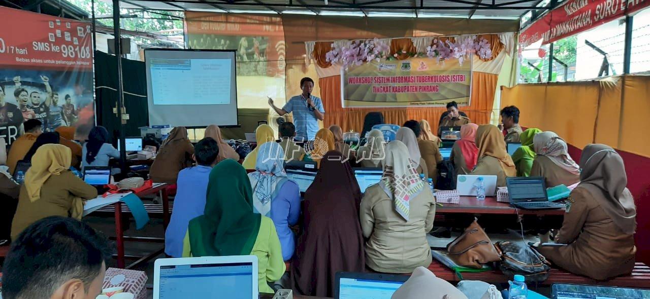 Perawat Rutan Pinrang Ikuti Workshop SITB Tingkat Kabupaten Pinrang