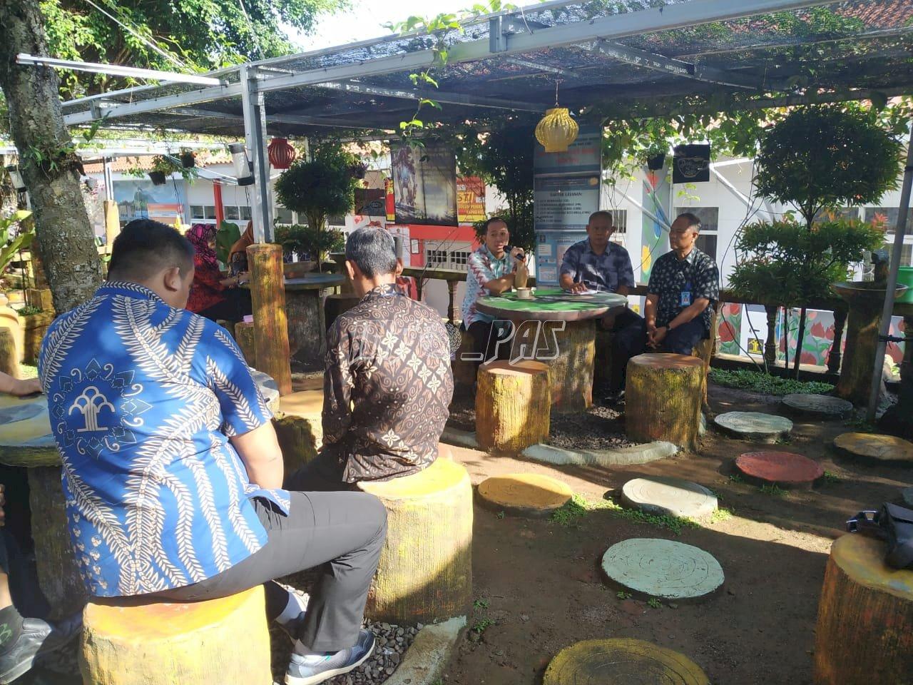 Coffee Morning, Ajang Lepas Stres Komandan & Wadan Lapas Kalianda