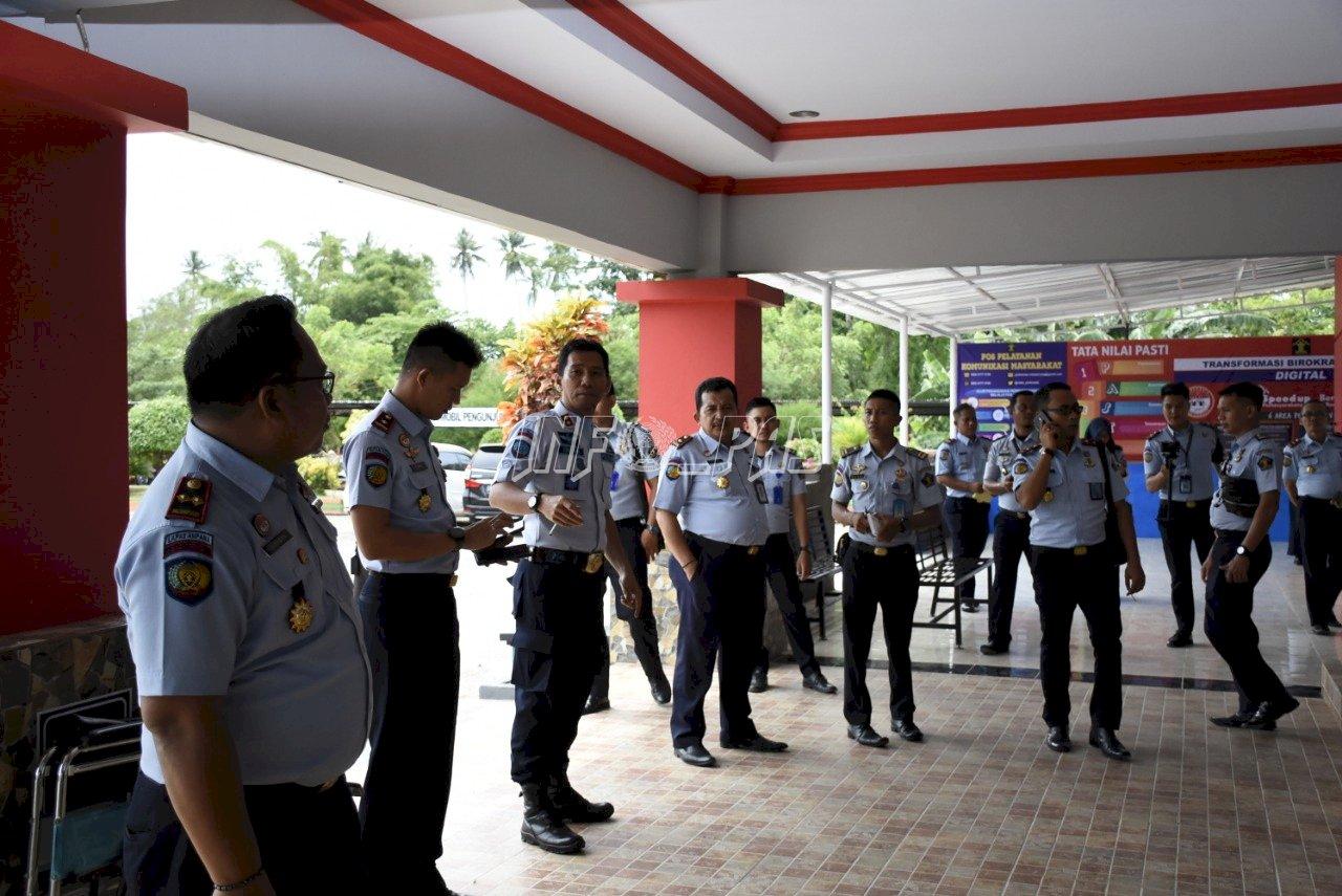 Berpedikat WBK, Rutan Pinrang Dibanjiri Studi Tiru
