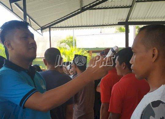 Antisipasi Covid-19, Rutan Unaaha Gandeng Dinkes & RSUD Konawe