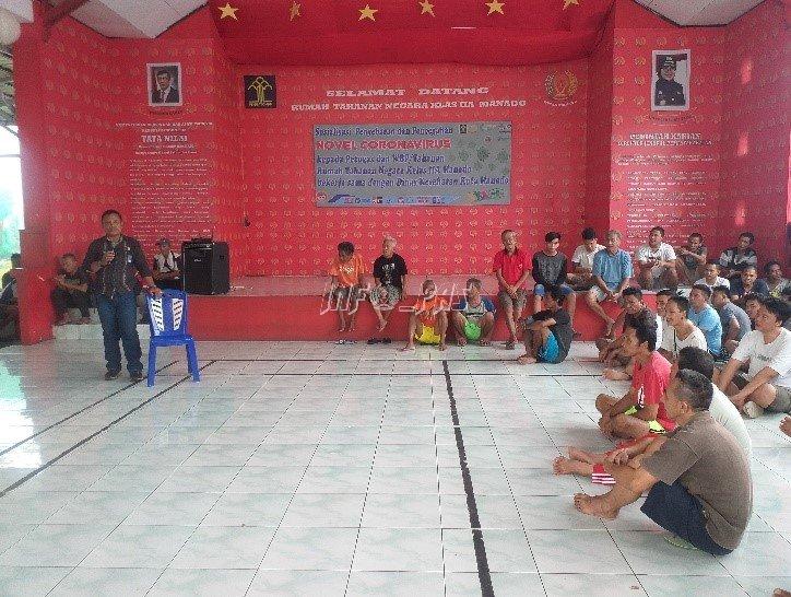 Kepala KPR Manado Minta WBP Tetap Jaga Kamtib