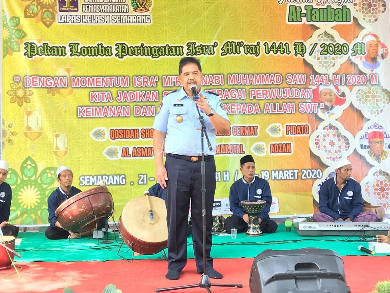 WBP Lapas Semarang Nikmati Penyuluhan Hukum Gratis