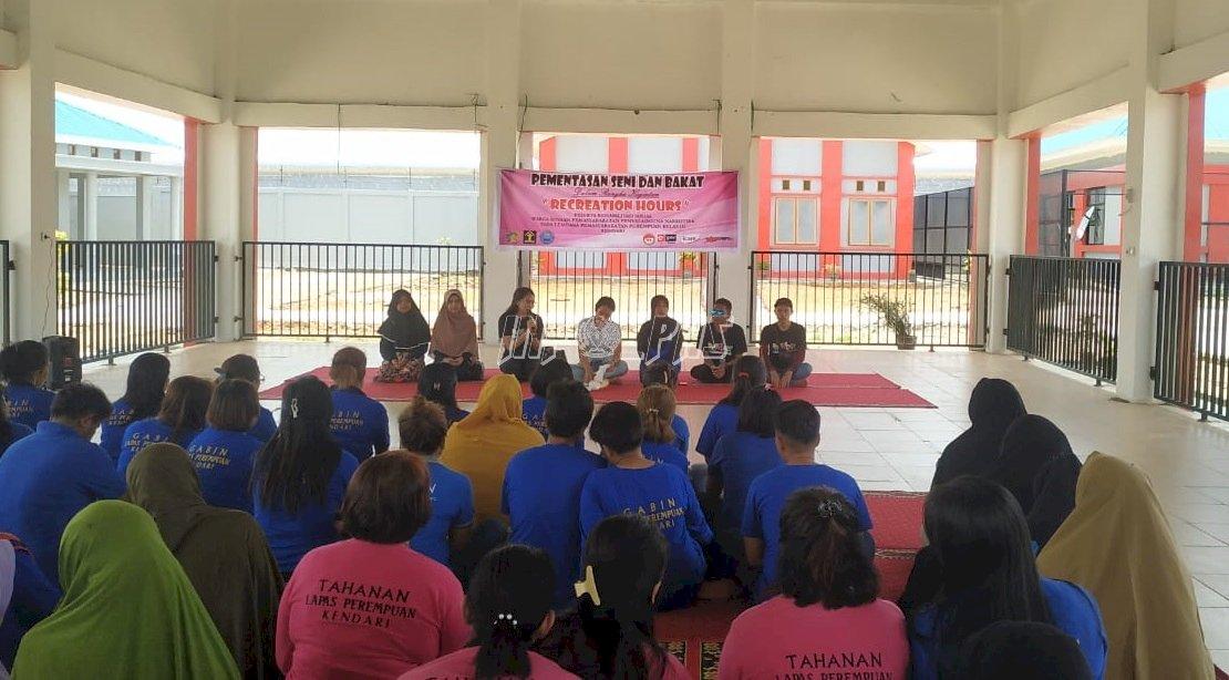 Kunjungi LPP Kendari, Kakanwil Sultra Perkenalkan Wiber ke WBP
