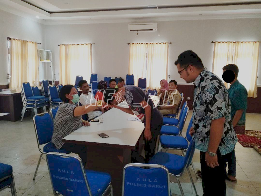 PK Pertama Bapas Muara Teweh Suskses Dampingi Diversi