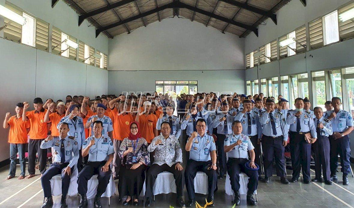 Monitor Penyebaran Covid-19, Direktur Bimkemas PA Sambangi UPT Pemasyarakatan Yogyakarta