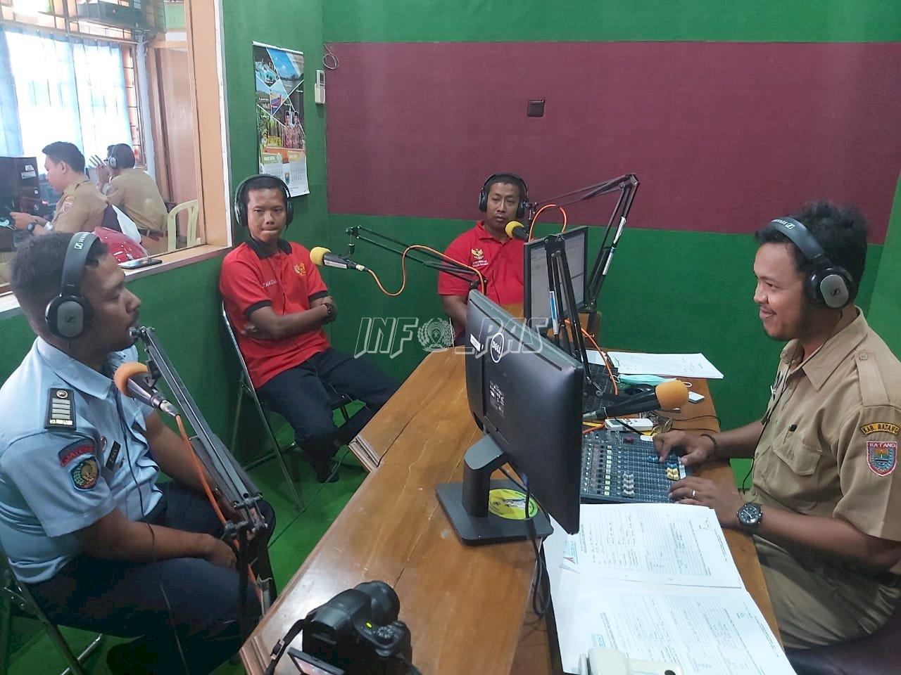 Karutan Batang On Air di Abirawa FM Batang