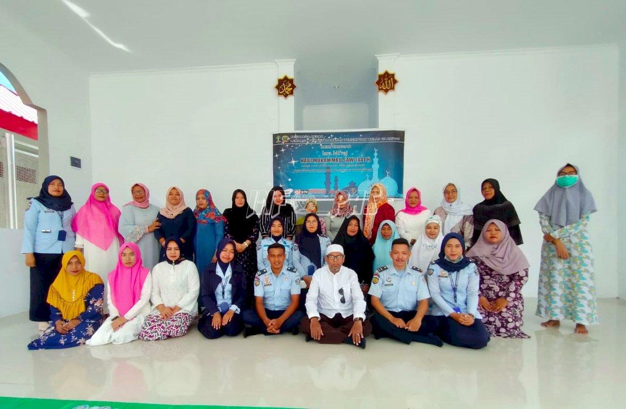Petugas & WBP LPP Ambon Peringati Isra Mi'raj 1441 Hijriah