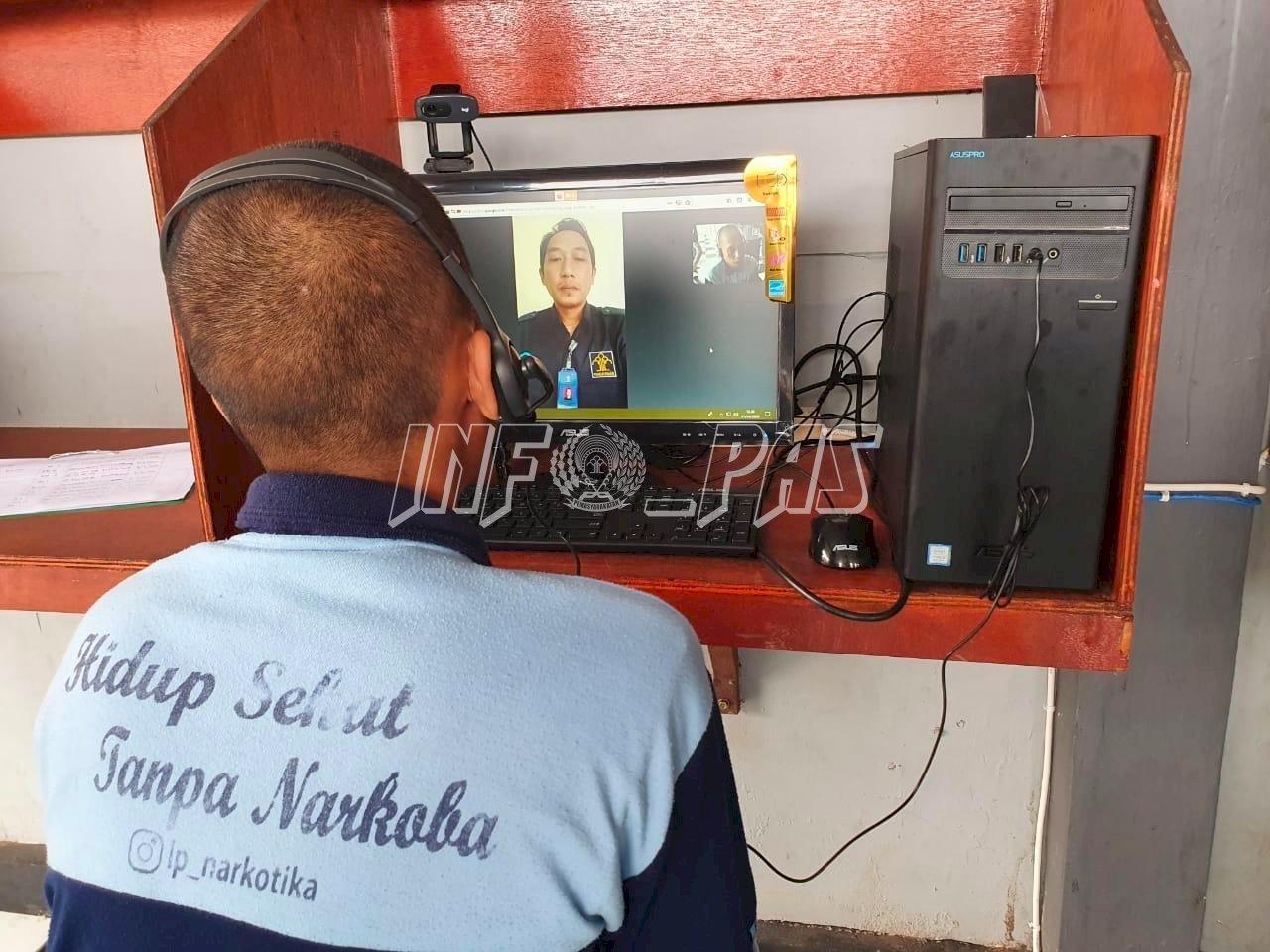 Konseling Online Lapas Narkotika Sungguminasa di Tengah Corona