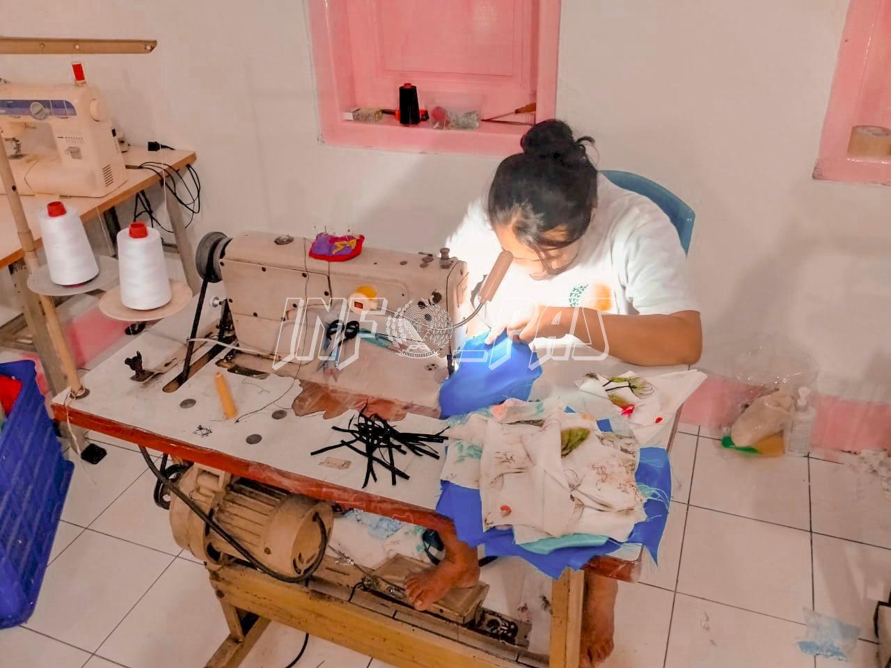Perangi Corona, WBP Lapas Kelas IIA Tangerang Produksi Ratusan Masker