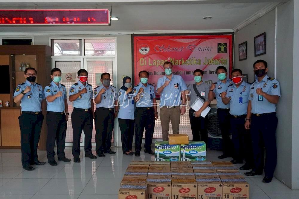 Lapas Narkotika Jakarta Terima Bantuan ICRC