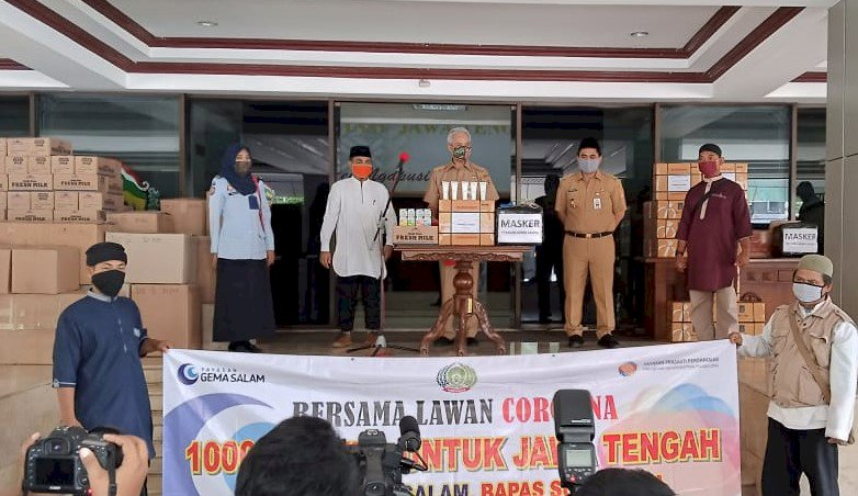 1.350 Masker Karya Eks Narapidana Teroris untuk Jawa Tengah