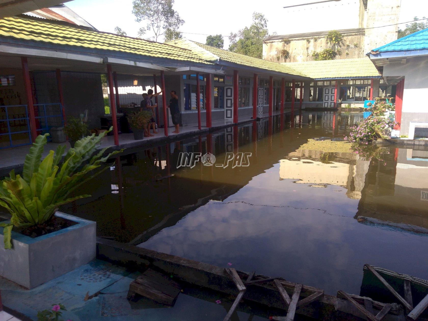 Rutan Buntok Terendam Banjir