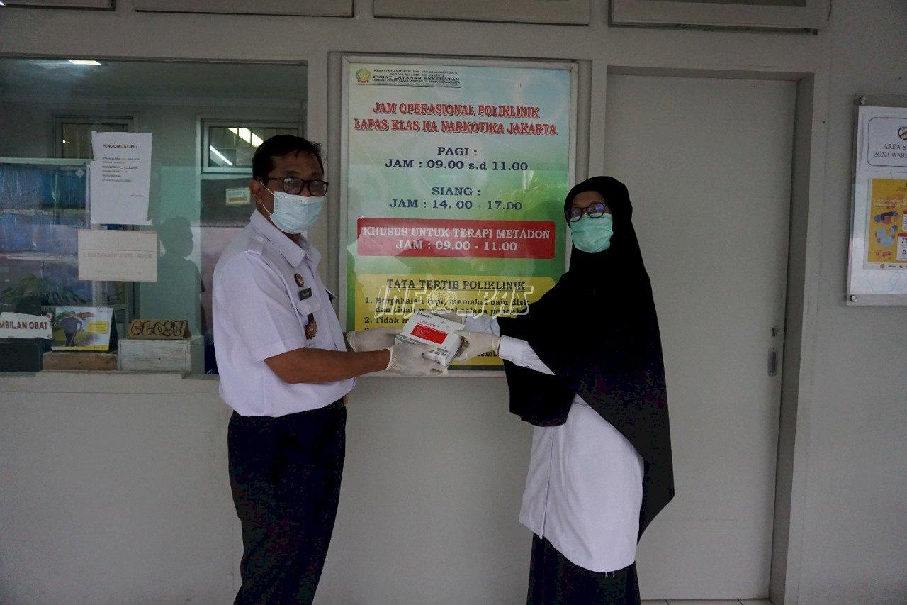 Dapat Alat Rapid Test Covid-19, LPN Jakarta Langsung Lakukan Tes Acak