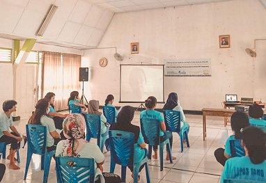 Tahanan Lapas Kelas IIA Tangerang Ikuti Penyuluhan & Konsultasi Hukum Online