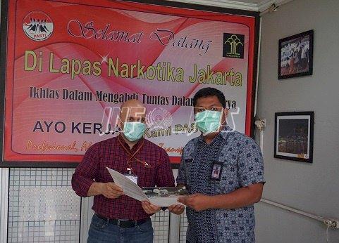LPN Jakarta Kembali Dapat Bantuan Pencegahan COVID-19