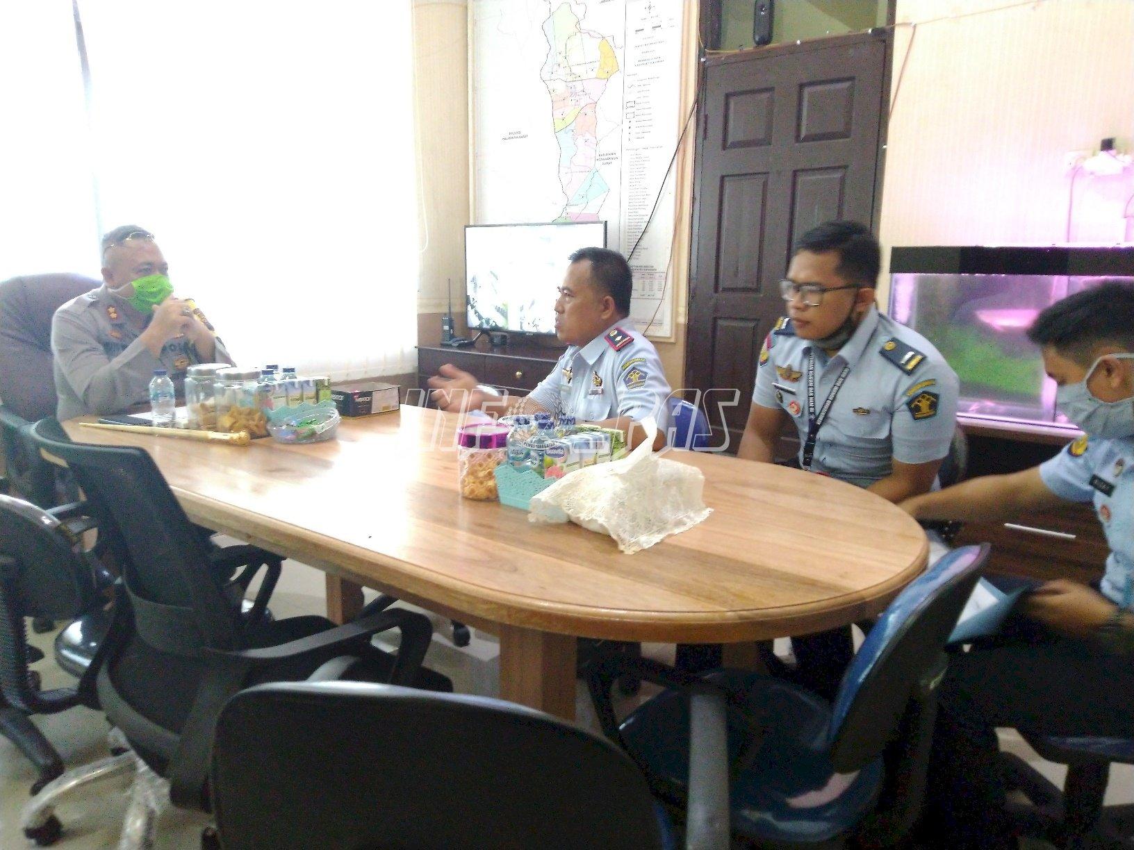 Lapas & Polres Sukamara Koordinasikan Pengawasan WBP Asimilasi