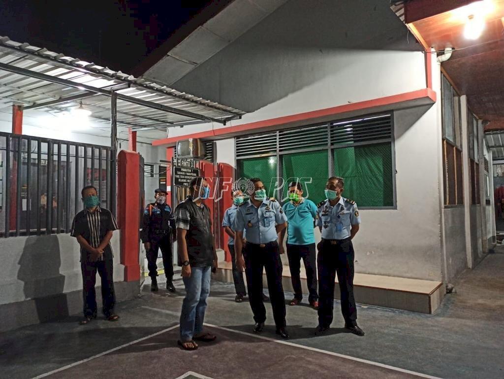 Sambangi Rutan Bantaeng, Kadiv PAS Sulsel Minta Tidak Ada Pungli Dalam Program Asimilasi