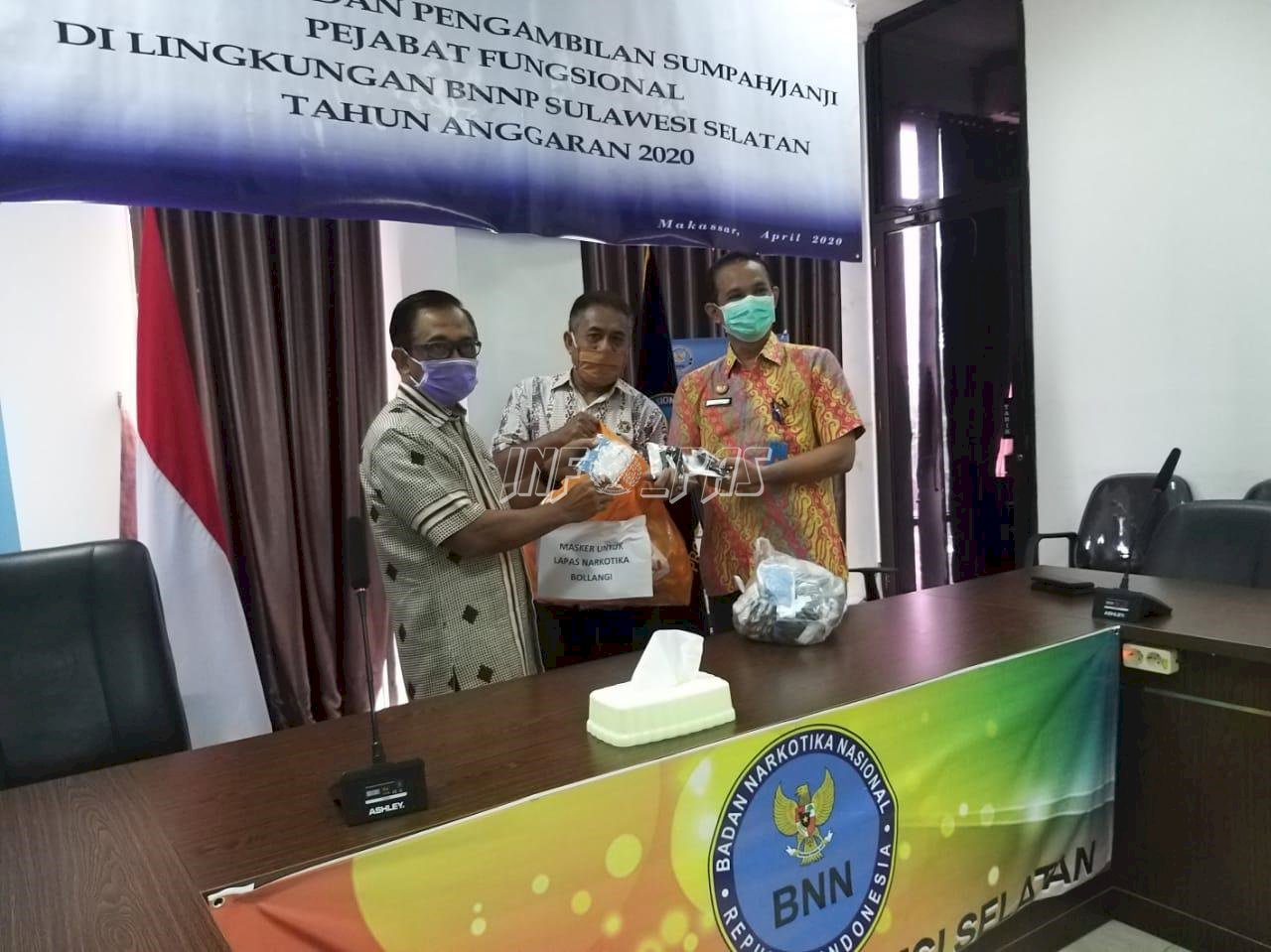 Program Rehabilitasi Tetap Berjalan, BNNP Sulsel Puji LPN Sungguminasa