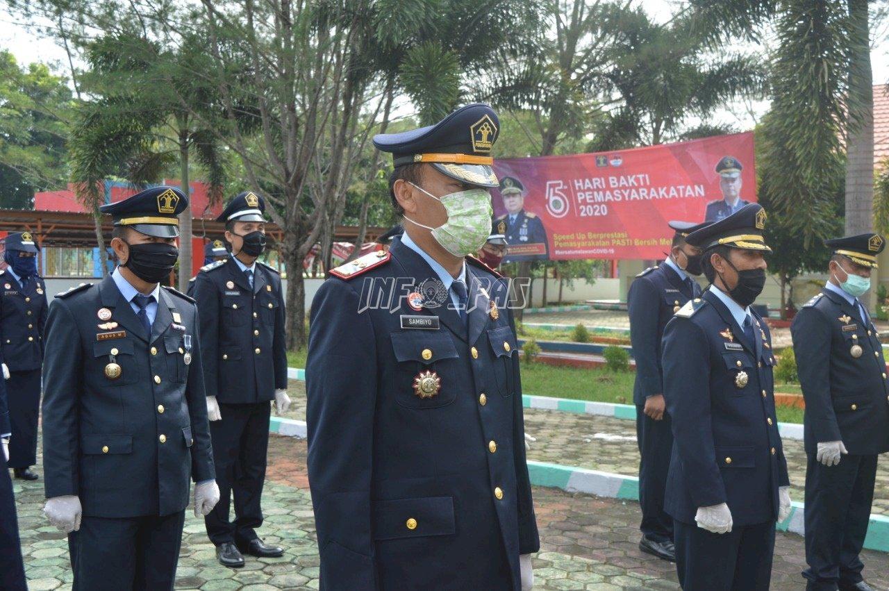 LPKA Bandar Lampung Raih Terbaik I Dalam Penanganan COVID-19