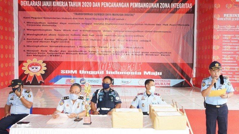Rutan Manado Gelar Lomba Kamar & Blok Terbersih