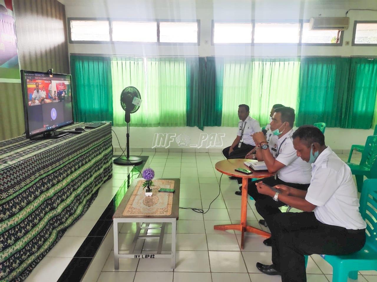 Bersinergi Dengan BNNP, Lapas Kupang Implementasikan P4GN