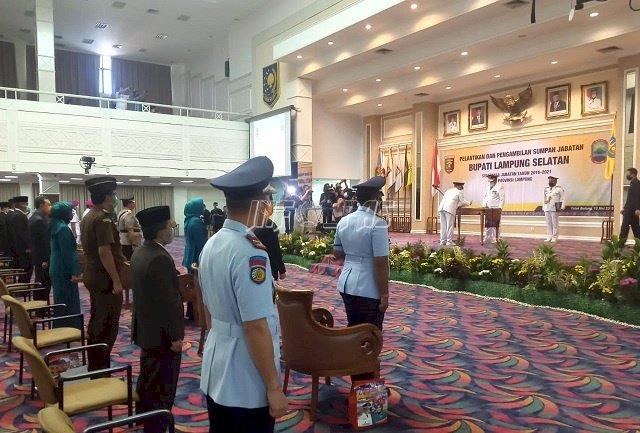 Hadiri Pelantikan Bupati Lampung Selatan, Ini Harapan Kalapas Kalianda
